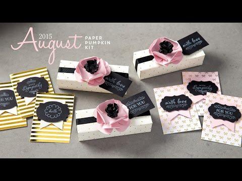 Paper pump August